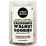 #9: Urban Platter California Walnut Cookies, 10 Cookies, 280 Grams Jar [All Natural, Hand-made, Gourmet Cookies]