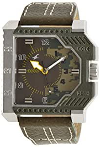 Fastrack Commando Analog Multi-Color Dial Men's Watch - NE3085SL02