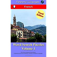 Parleremo Languages Word Search Puzzles Travel Edition French - Volume 1