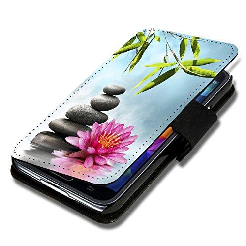 Book Style Flip Handy Tasche Case Schutz Hülle Schale Motiv Etui für Samsung Galaxy ACE Style - Flip 1X16 Design9