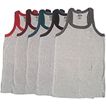 Amul Macho Sporto Multicolor Gym Vest(Set of 5)