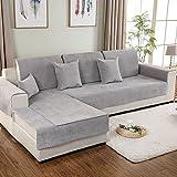 DSAQAO Wasserdichte Sofa Handtuch, Universal Vier Jahreszeiten Anti-rutsch All-Inclusive sofabezug, Einfache Reine Farbe Sofa Protector-B 110x240cm(43x94inch)