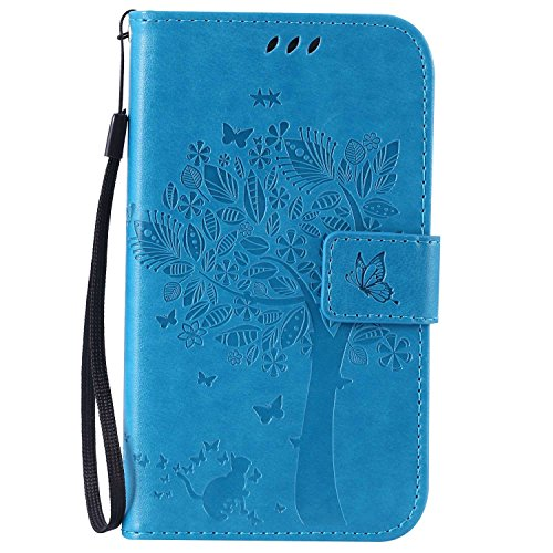 Guran Funda de Cuero para Samsung Galaxy Grand Neo Plus/Grand Neo (i9060)...