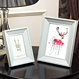 5 pulgadas 7 pulgadas marco de foto de la vendimia del marco Decoración de boda imagen de escritorio de Navidad Amigo Regalo de San Valentín