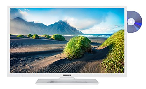 Telefunken XH32D401D-W 81 cm (32 Zoll) Fernseher (HD ready, Smart TV, Triple Tuner, DVD Player)