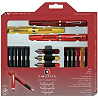 Calligraphy Pen Set, Maxi Kit, 4 Nibs, Sold as 1 Each