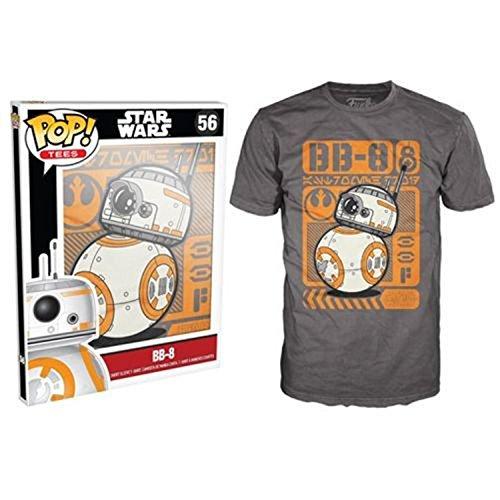 Funko-Camiseta de 196-Pop Tees, Star Wars-Episode 7, BB de 8Type Póster, tamaño XL