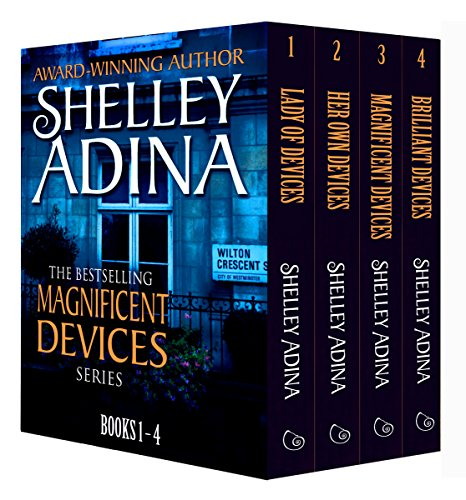 Magnificent Devices: Books 1-4 Quartet: Four steampunk adventure novels in one set (Magnificent Devices Boxset Book 1)