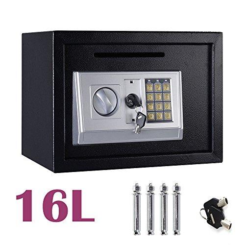 16L Digital Steel Safety Box Saf...