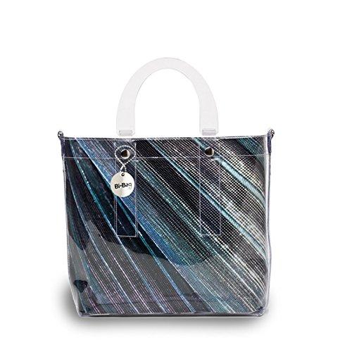 BI-BAG borsa donna modello DAILY DIAMOND + pochette interna Multicolore