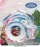 BBS Frozen Geschirrset, Melamin/Polystirene, Mehrfarbig, 5Einheiten