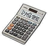 Casio MS-100BM Calcolatrice da Tavolo, Display a 10 Cifre, Calcolo Profitto, Calcolo Imposte