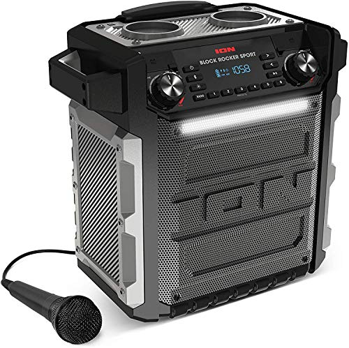 ION Audio Block Rocker Sport - Altavoz Impermeable