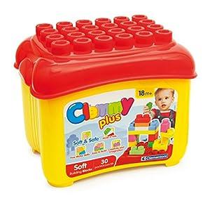 Clemmy Plus - Cubo con 30 Bloques (Clementoni 14882)
