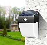 Hycy Solar Außenleuchten LED Wandleuchte PIR Bewegungssensor Street Hof Garten Korridor Veranda Leuchtet Wiederaufladbare Notfall Glühbirne