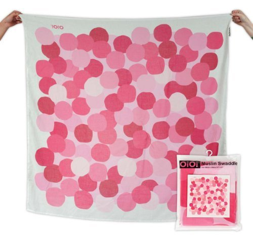 oioi-confetti-dot-digitally-printed-muslin-swaddle-natural-with-multi-pink-dot-by-oioi
