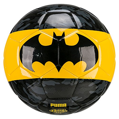 PUMA Superhero Lites Ball, Puma Black-Dandelion-Batman, 4 (Ball Fußball Puma)