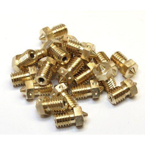 1.75mm x 0.80mm E3D v6 Extra Nozzle