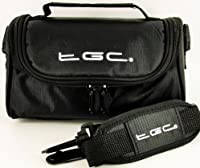 Caractéristiques du produitSac de transport TGC/étui avec bandoulière et poignée de transport pour le SIGMA DP1Merrill appareil photo/caméscope.Dimensions intérieures du sac sont: largeur: 200mm-Profondeur: 120mm-Hauteur: 100mm.Doux inté...