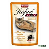 Animonda Rafine Soupé Huhn Ente & Nudeln Katzenfutter 20x100g