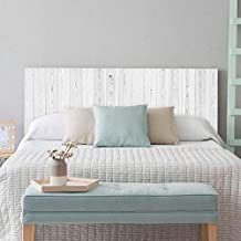 setecientosgramos Cabecero Cama PVC | Whitewood | Varias Medidas | Fácil colocación | Decoración Dormitorio (