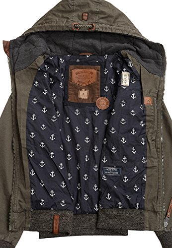 Naketano Male Jacket Survive & Advance Olive