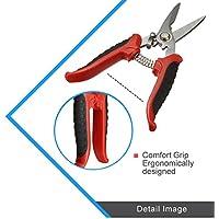 PC multifunción de acero inoxidable tijeras electricista manualmente–Tijeras de corte de garganta inalámbrico y estrecho (acero placa herramientas de mano
