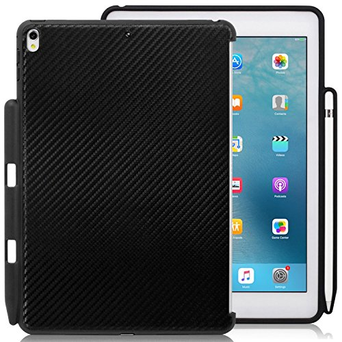 iPad Pro 26,7 cm anthrazit-grau – Begleiter Cover – Perfect Match für Apple Smart Tastatur und Cover schwarz Carbon Fiber Apple iPad Pro 10.5 Inches