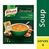 We bring the world of flavours to your home with our authentic Knorr International Thai Vegetable Soup. Knorr has hand-picked the best quality vegetables and mixed it with spices to make delicious Knorr International Thai Vegetabe Soup. A per...