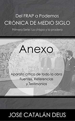 Anexo: Aparato crítico de toda la obra. Fuentes, documentación y ...