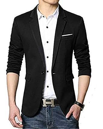 BREGEO Fashion Black Casual Blazer/3 Colours Amazon.in Clothing U0026 Accessories