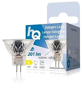 Lampe halogène MR11 GU4 20W 201lm 2800K