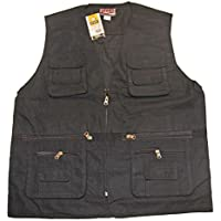 Gilet Homme Sans Manches Multipoches Pêche Chasse Pierre-cedric