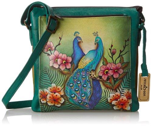 anuschka-520-bolso-de-hombro-para-mujer-color-passionate-peacocks-talla-unica