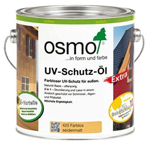 Osmo-Color UV-Schutz Öl Extra UV-Schutz für den Aussenbereich 420     0,750 L