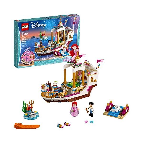 LEGO- Disney Princess Barca della Festa Reale di Ariel, Multicolore, 41153 1 spesavip