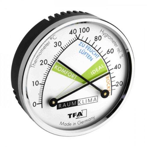 Produktbild TFA Dostmann Thermo-Hygrometer, 45.2024, mehrfarbig