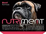 Nutriment Raw Adult Formula variety box, (5x 500g) Beef, (5x500g) Salmon, (5x500g) Turkey and (5x500g) Duck