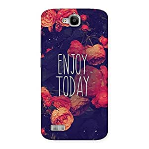 Enjoy Today Multicolor Back Case Cover for Honor Holly