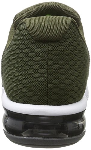 Nike Air Max Sequent 2, Scarpe Running Uomo Marrone (Cargo Khaki/black-medium Olive-dark Grey-volt)
