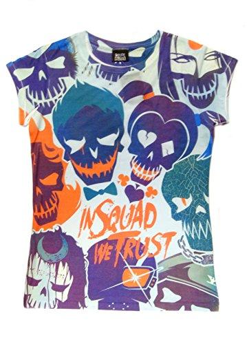Plastic Head Suicide Squad All Over Trust Tsds, Camiseta para Hombre