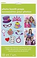 Mad Hatters Tea Party Photo Booth Props, Set of 10