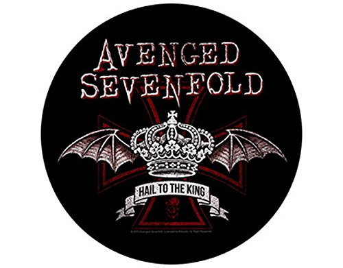 Avenged Sevenfold - Red Crown - Grande Toppa/Patch Circolare