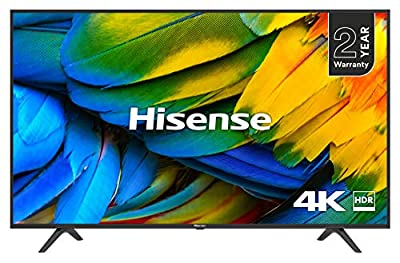 Hisense H43A6200UK 4K Ultra HD Smart TV - Black (2018 Model)