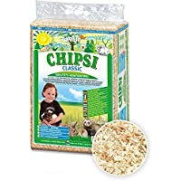 Chipsi Classic Wood Shavings Bedding/Litter for All Small Animals/Suitable for Hamster, Rabbit, Guinea Pigs (3.2 Kg)