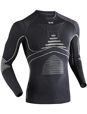 X-Bionic Funktionsbekleidung Man Acc Evo UW Shirt LG SL, Intimo Unisex, Multicolore, S/M