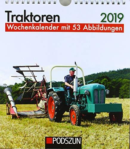 Traktoren 2019: Wochenkalender mit 53 Fotografien