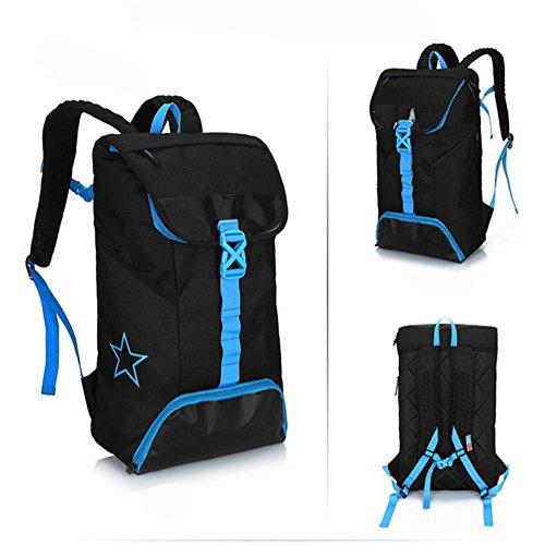 Outdoor borsa sportiva, zaino, sacchetto di alpinismo, di grande capacità, tela, sia uomini che donne, 51 centimetri di altezza, 31 centimetri lungo, 16 centimetri di larghezza , a d