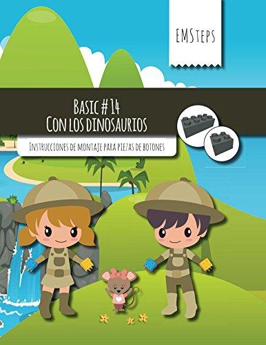 EMSteps #14 Con los dinosaurios: Instrucciones de montaje para piezas de botones (EMSteps Basic) por Achim Schuck