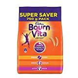 Cadbury Bournvita Chocolate Health Drink, 750 gm Refill Pack (Save Rs 12/-)
